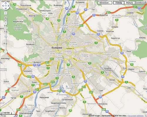 budapest térkép m0 M0 a Google Térképen | Falu.Me budapest térkép m0